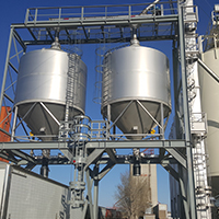 Fertilizer blending plant